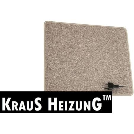 60x110cm, warme voeten mat, 135~180w, 230V, in antraciet of creme