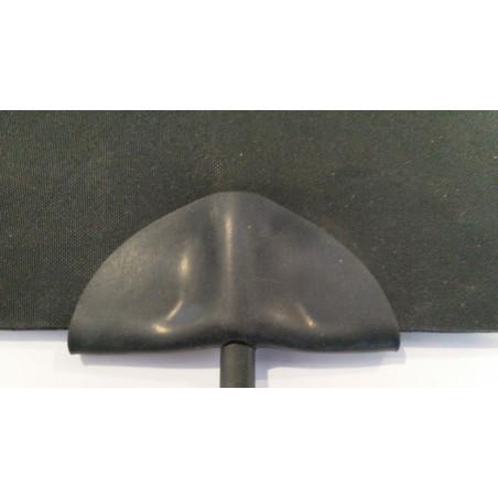 24V, 40x50cm warme voeten mat, 30w, antraciet grijs
