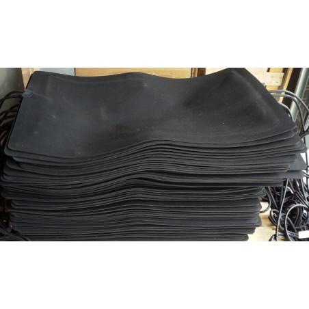 24V, 40x60cm, warme voeten mat, 30w, antraciet grijs