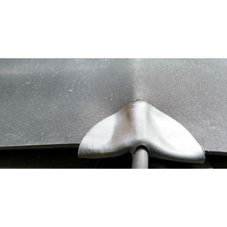 40x50cm, warme voeten mat, Krauss, 24W, 200Wm2, 230V, antraciet of creme