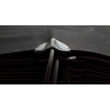 40x50cm, 36W, 230V, rubberen warmtemat 4mm dik met anti sliplaag voorzien van snoer met stekker en aan/uit schakelaar