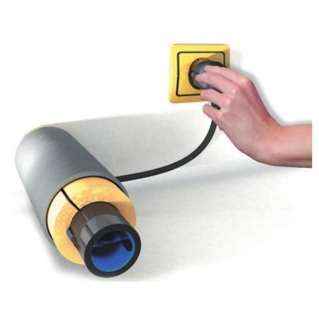 Vorstbeveiliging -VB-180-6, 180W, 6mtr,  plugin thermostaat