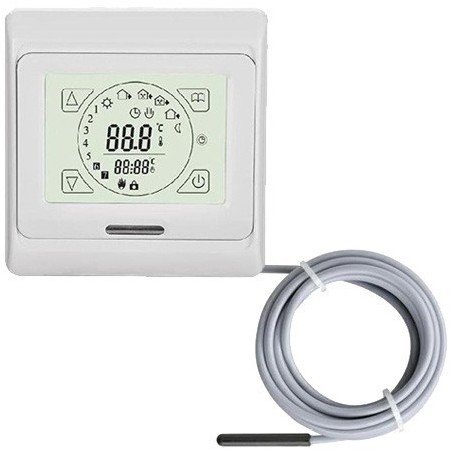 TH 89Plus thermostaat  incl ext sensor