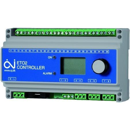 5xRF thermostaat, 7x thermische klep, kant-en-klaar, geschikt voor 5 ruimtes en 7 groeps verdeler