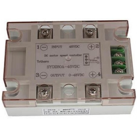 SOLID STATE RELAIS 80A, 0-10VDC, 48Vdc, PROPORTIONEEL